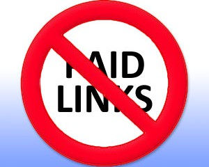 no-paid-links-sign