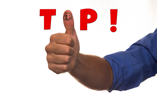 thumbs up tip