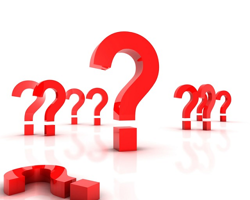 series of question marks - backlinks